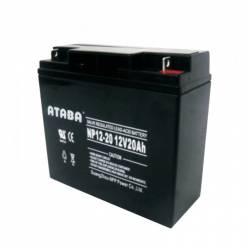 Аккумулятор ATABA AGM 12V 20Ah