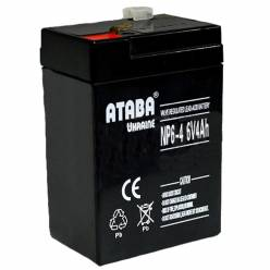 Аккумулятор ATABA AGM 6V 4Ah