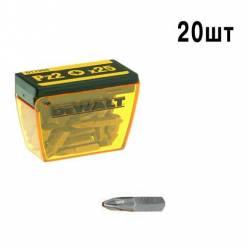 Бита DeWALT Pz2, L=25мм, 20 шт. DT7908.