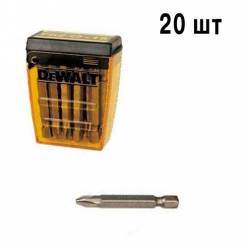 Бита DeWALT Ph2, L=50мм, 20 шт. DT7913.