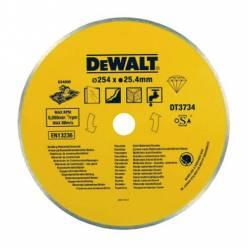 Диск алмазный DeWALT, 250х1.6х25.4мм, сплошной, для мокрого реза