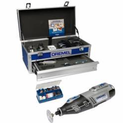 Многофункциональный аккумуляторный Dremel 8200, 5 приставок, 65 насадок ПЛАТИНУМ КОМПЛЕКТАЦИЯ