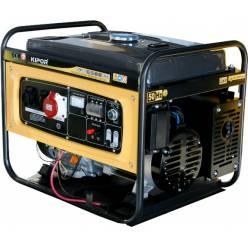 Бензиновый генератор KIPOR KGE6500E3 (Кипор)