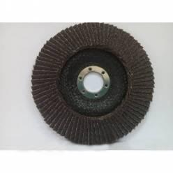 Круг лепестковый торцевой Спрут-А 125*6,0*22,23 P80