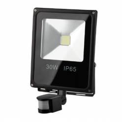 Прожектор LED Works 1850LM, 6400К, IP65 (30Вт) с датчиком движения