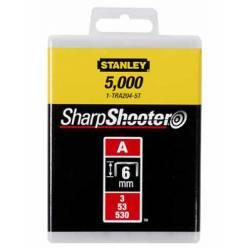 """Скобы  для степлера ручного """"Light Duty"""" тип """"А"""", 6мм, 1000шт. 1-TRA204T"""