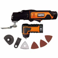 Многофункциональный инструмент (реноватор) AEG OMNI12C LI152BKIT