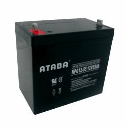 Аккумулятор ATABA AGM 12V 55Ah