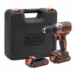 Аккумуляторный шуруповерт Black+Decker BL186KB