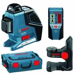 Лазерный нивелир BOSCH GLL 3-80 P + BM1 + LR2 L-BOXX