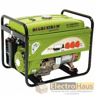 Бензиновый генератор DALGAKIRAN DJ 5500 BG/ BG-E