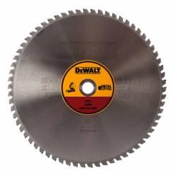 Диск пильний DeWALT, 355х25.4мм, 66 зубов, угол заточки 1.5 градуса, геометрия зуба ТCG, черный металл , для DW872