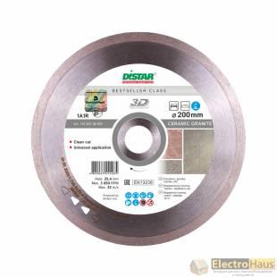 Алмазный диск DISTAR 1A1R Bestseller Ceramic granite 250x1,7x10x25,4