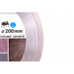 Алмазный диск DISTAR 1A1R Bestseller Ceramic granite 200x1,7x8,5x25,4