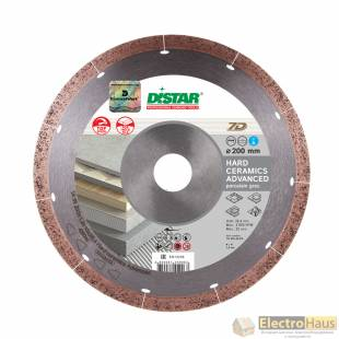 Алмазный диск DISTAR 1A1R Hard Ceramics Advanced 250x1,5x10x25,4