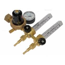 Регулятор расхода АР-40/У-30-2ДМ с 2 ротаметроми