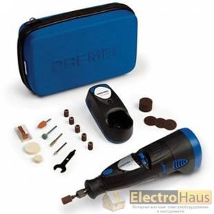Многофункциональный аккумуляторный Dremel 7700 и 30 насадок