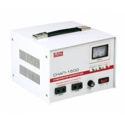 Стабилизатор напряжения СНАП-1500, однофазный, переносной