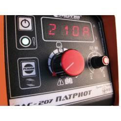 Сварочный инвертор ВДУ-207 Патриот