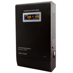 ИБП с правильной синусоидой LogicPower LPY-W-PSW-3000VA+ (2100W) 10A/15A 48V