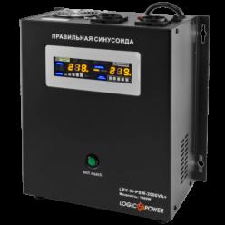 ИБП с правильной синусоидой LogicPower LPY- W - PSW-2000VA+ (1400Вт) 10A/20A 24В