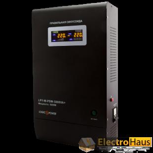 ИБП с правильной синусоидой LogicPower LPY-W-PSW-5000VA+ (3500W) 10A/20A 48V
