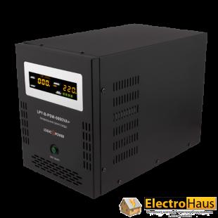 ИБП с правильной синусоидой LogicPower LPY-B-PSW-6000VA+ (4200W) 10A/20A 48V