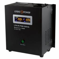 ИБП с правильной синусоидой LOGIC POWER LPA- W - PSW-500VA (350Вт) 2A/5A/10A
