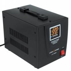 Стабилизатор напряжения релейный LogicPower LPT-1500RD BLACK (1050W)