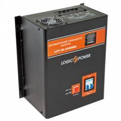 Стабилизатор напряжения релейный LogicPower LPT-W-5000RD BLACK (3500W)