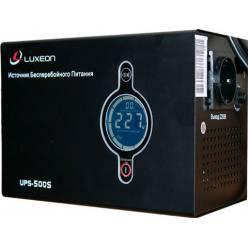 Источник бесперебойного питания Luxeon UPS-800S с правильной синусоидой