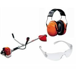 Мотокоса Maruyama MX21H + защитные очки, наушники и режущий диск