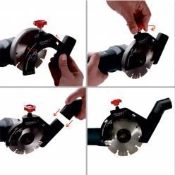 Аеродинамическая насадка – штроборез Mechanic AIRDUSTER версия 2.0 (125 мм)