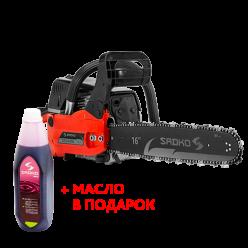 Бензопила Sadko GCS-450E(+масло в подарок)
