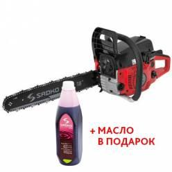 Бензопила SADKO GCS-510E (2 ШИНЫ, 2 ЦЕПИ)(+масло в подарок)