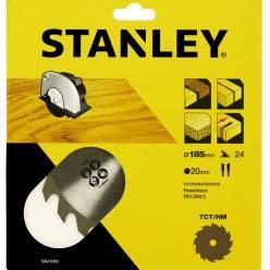 Пильный диск STANLEY STA13355 TCT/HM (185 мм)