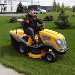 Трактор садовый бензиновый STIGA Estate7122HWS