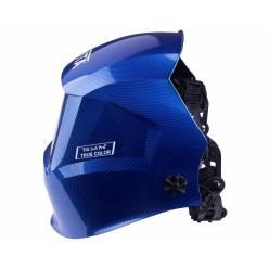 Сварочная маска хамелеон VITA TIG 3-A Pro True Color (металлические соты синие)